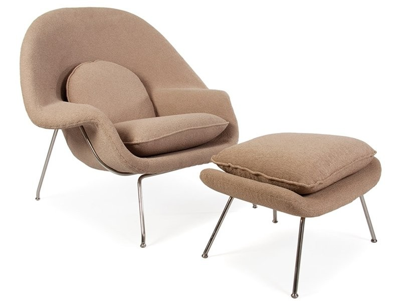 womb chair inspired by eero saarinen iconic chair designer furniture